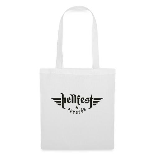 hellfest records logo png - Stoffbeutel