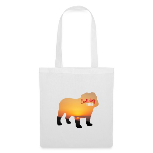 Bulldog Summer Time - Bolsa de tela