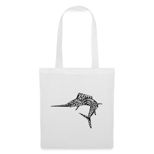 The Black Marlin - Tote Bag