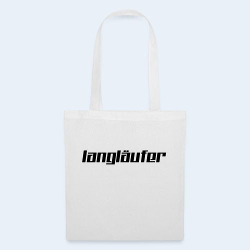 langlaeufer_font_6 - Stoffbeutel