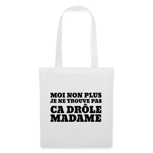 Non Madame - Sac en tissu