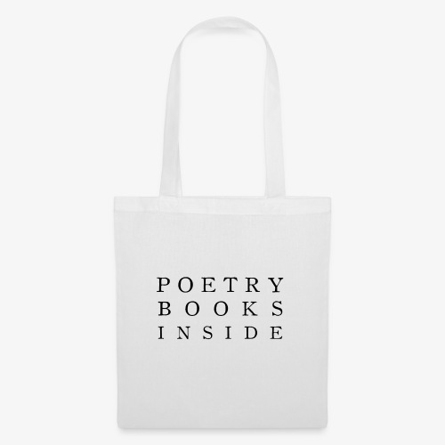 Poetry Books Inside - Stoffbeutel