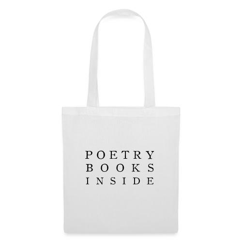 Poetry Books Inside - Tote Bag