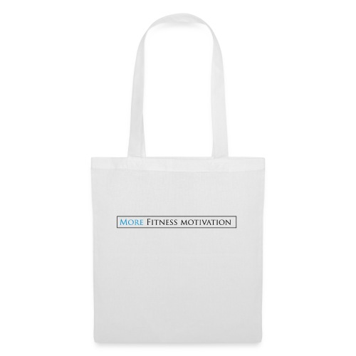 Female More fitness Motivation white/pink - Tote Bag