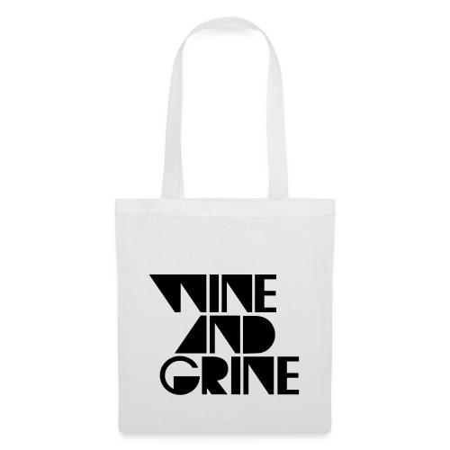 WINE GRINE - Tote Bag