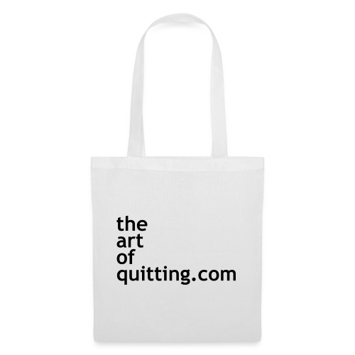 The Art of Quitting - Tote Bag