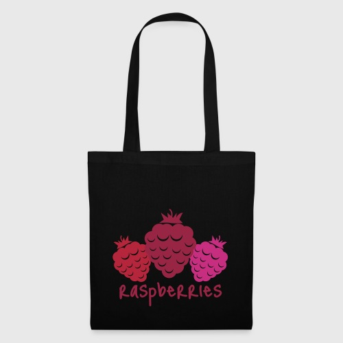 Raspberries - Tote Bag