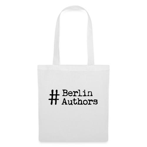 BerlinAuthors Logo Black - Stoffbeutel