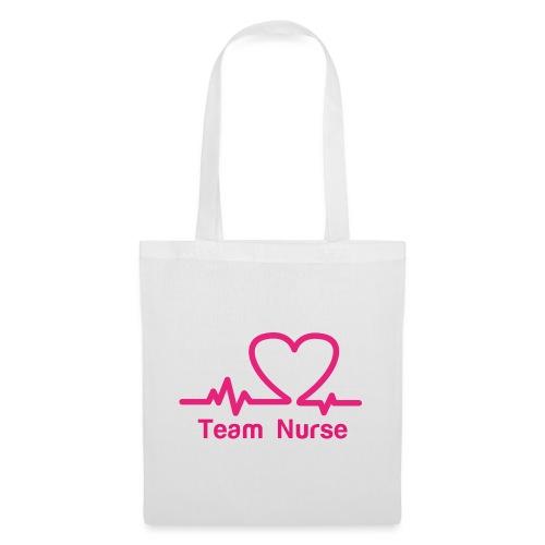logo team nurse - Sac en tissu