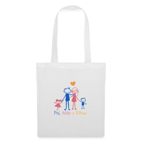 Pai Mãe e Filhos - Tote Bag