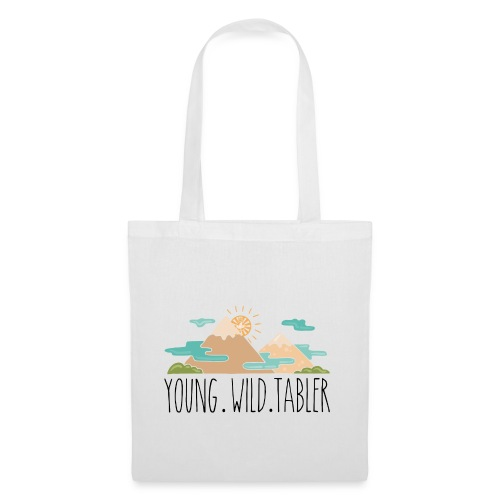young.wild.tabler - Stoffbeutel