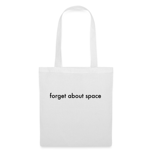 forget basic, black - Tote Bag