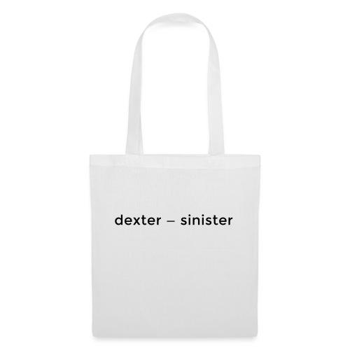 dexter sinister - Tygväska