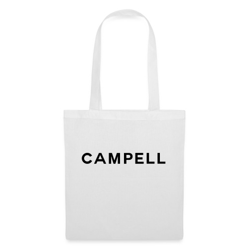 campell schriftzug2 - Stoffbeutel