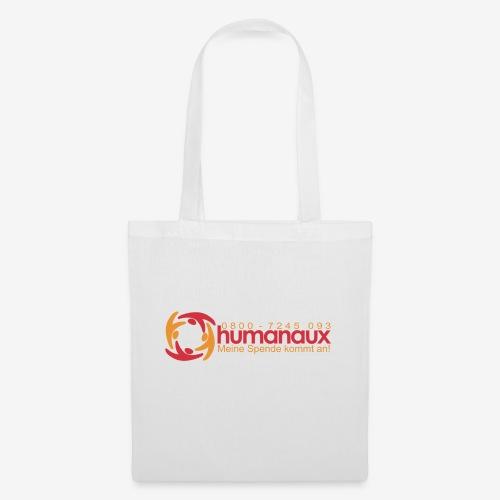 humanaux_slogan_nummer_gr - Stoffbeutel