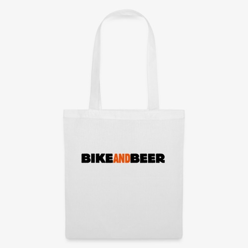 bike and beer banner - Tote Bag