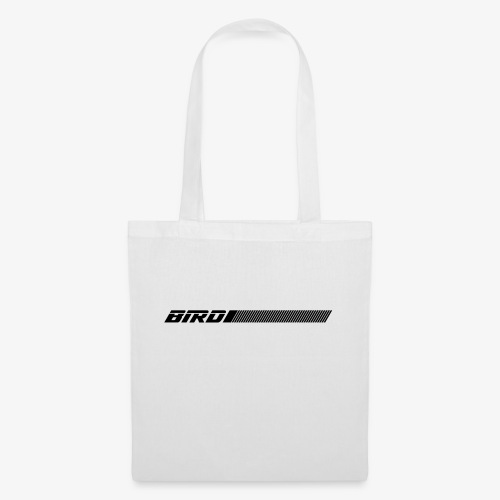 bird text with lines - Tote Bag