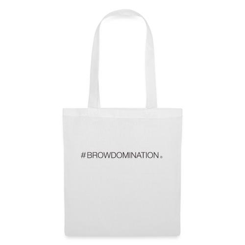 BrowDom Hashtag Black - Tote Bag