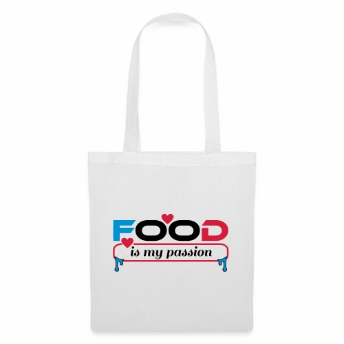Food is my passion - Stoffbeutel