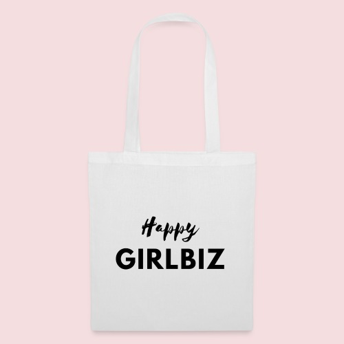 Happy GIRLBIZ - Stoffbeutel