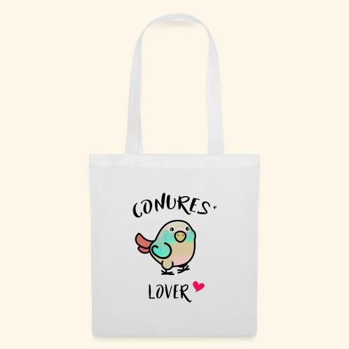Conures' Lover: blue cinamon - Sac en tissu