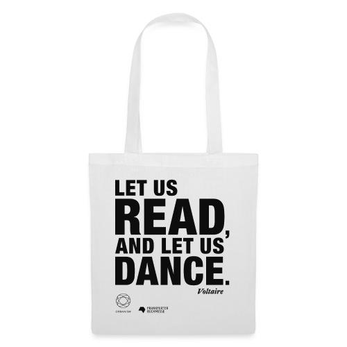LET US READ   Bookish Merch - Stoffbeutel