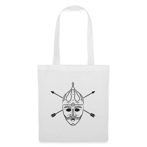 Cuman helmet with arrows - Tote Bag