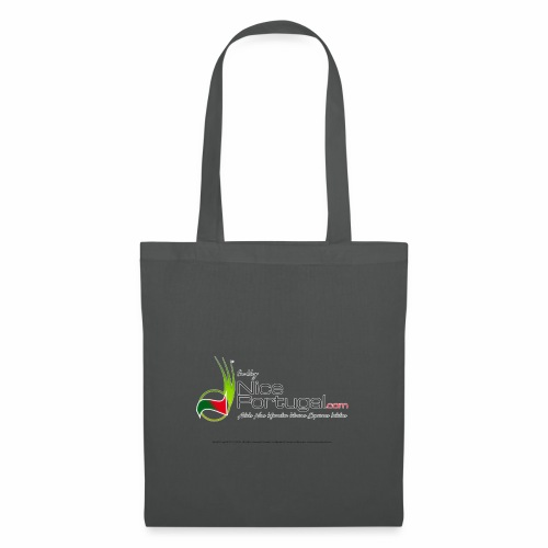 NicePortugal.com Logo - Borsa di stoffa