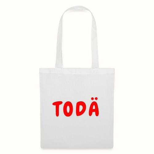 TODÄ - Rött motiv - Tygväska