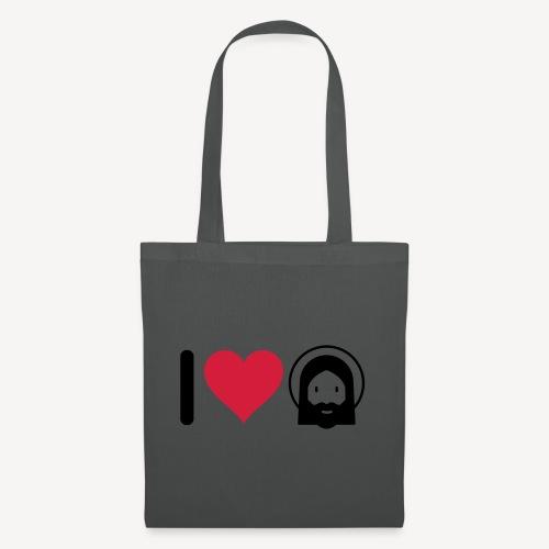 I LOVE JESUS - Tote Bag
