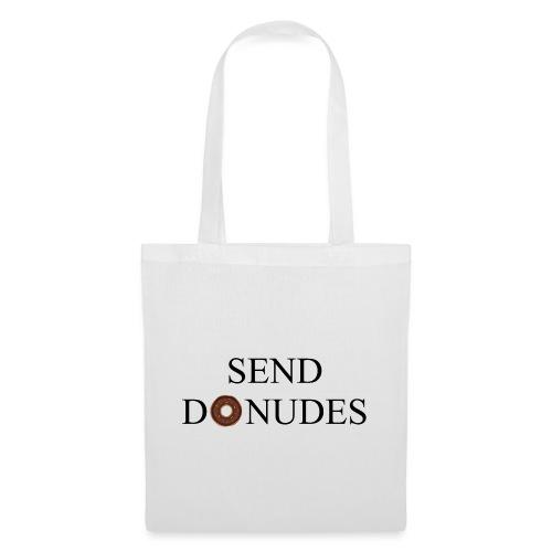 Send Donudes - Stoffbeutel