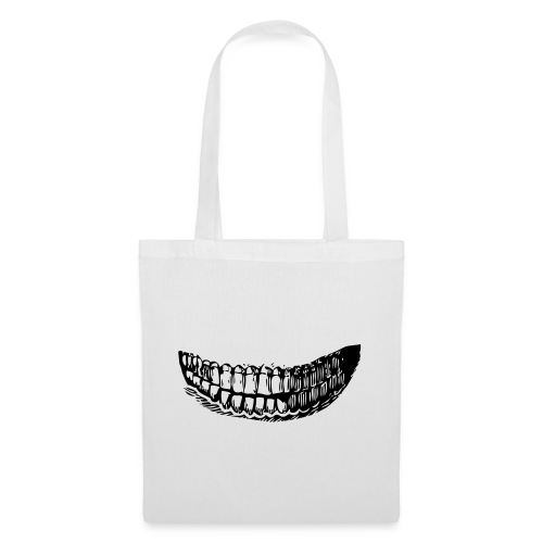 les dents - Sac en tissu