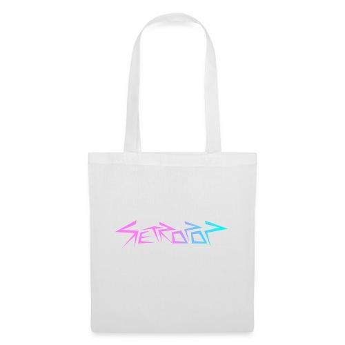 Retropop - Logo värillinen - Kangaskassi