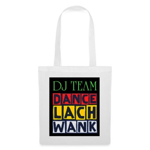 dj team dance lach wank LOGO - Stoffbeutel