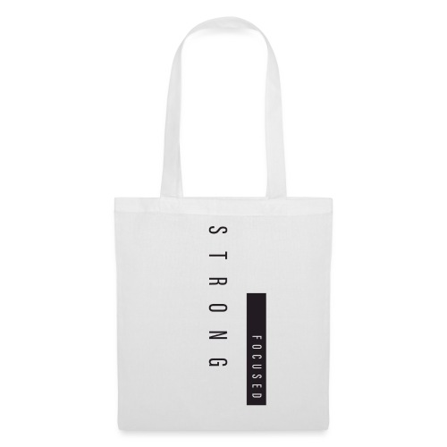 Strong Focused - Tote Bag