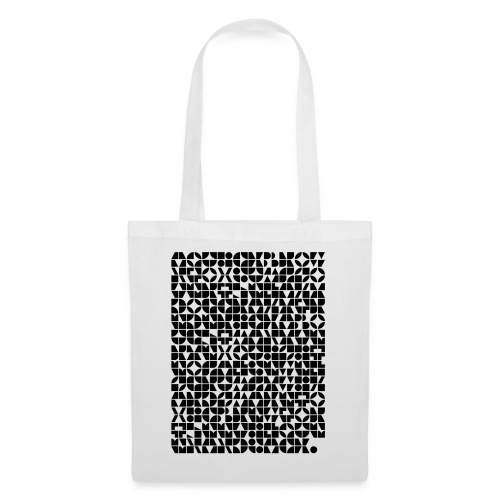 abstract letter patterns by CMunk - Tote Bag