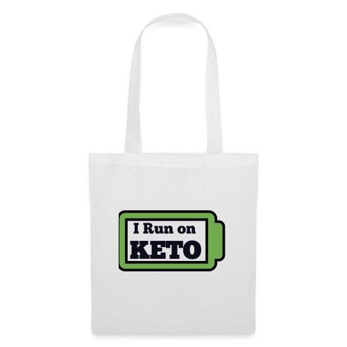I run on KETO - Tas van stof