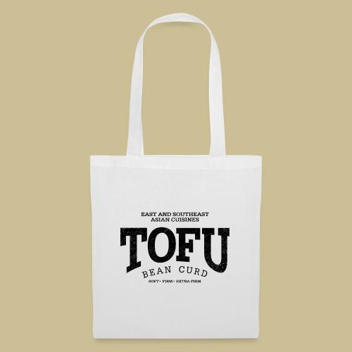Tofu (black oldstyle) - Stoffbeutel