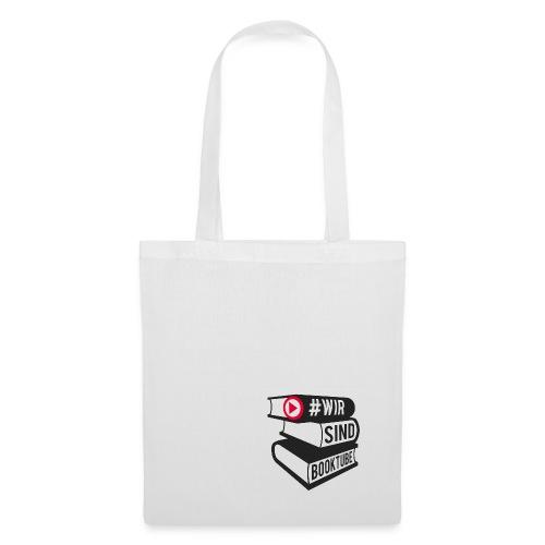 #wirsindbooktube Logo - Stoffbeutel