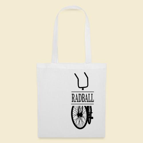 Radball | Retro Black - Stoffbeutel