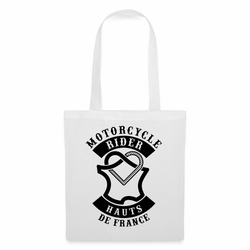 Motorcycle Rider Hauts-de-France 'Flag' - Tote Bag