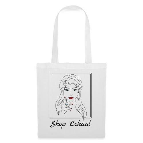 Ben loyaal - Shop lokaal #Girlpower - Tas van stof