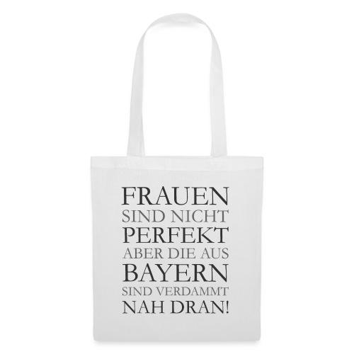 Frauen aus Bayern T-Shirt (Damen/Grau) - Stoffbeutel