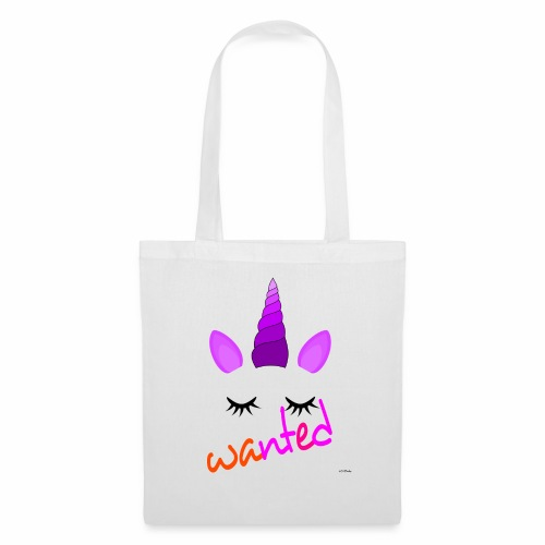 Wanted unicorn - ODIFacto design - Borsa di stoffa