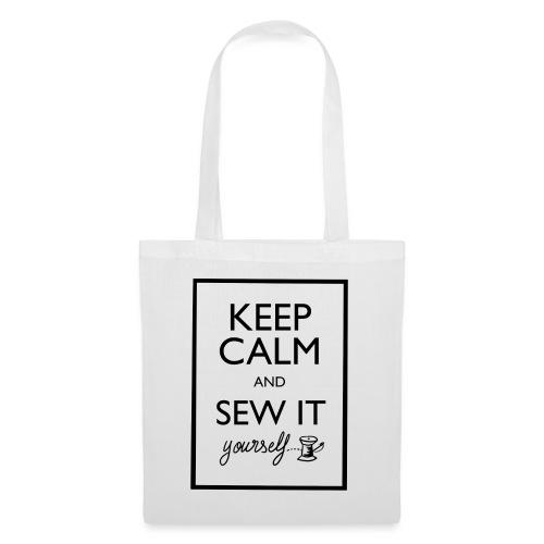 Keep Calm and sew it yourself - Sac en tissu