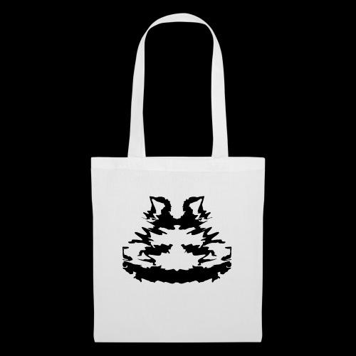 Rorschach Katze - Stoffbeutel