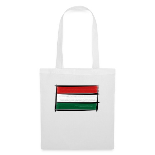 Art Flagge Ungarn - Stoffbeutel
