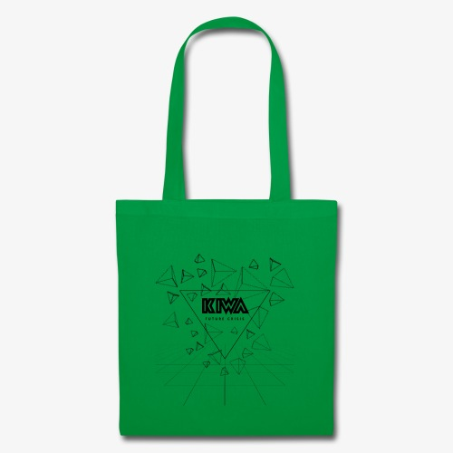KIWA Future Crisis Black - Tote Bag