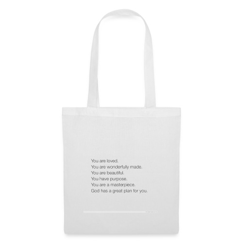 God has a plan for you - Tote Bag