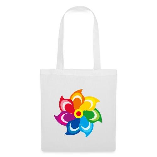 bunte Windmühle Kinderspielzeug Regenbogen Sommer - Tote Bag